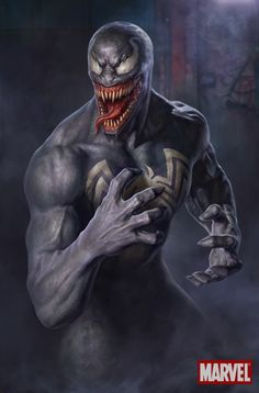 StuffNThings - redskullsmadhouse: Venom by Sergey Kochurkin