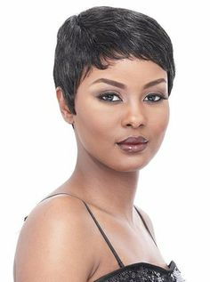 It's a Cap Weave 100% Human Hair Wig MOLLY - Click to enlarge