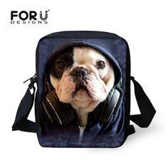 Girls For Bag Crossbosy High Bags Messenger Shoulder Printing Dog Cat Pet Cute Women Customize