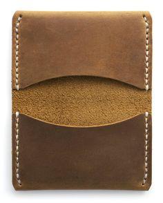 Astoria 3-Pocket Slim Leather Wallet Featured in by Waskerd
