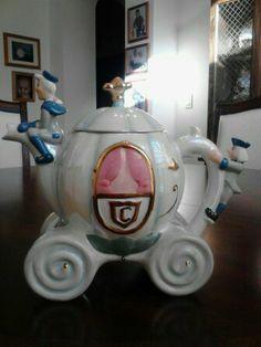 Cinderella's Carriage Teapot