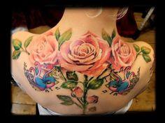 | rose tattoo roses gino dartnall ntc nocturnal tattoo club very creative