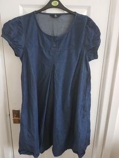 747cc245f31 Mothercare Denim Maternity Dress size 16  fashion  clothes  shoes   accessories  womensclothing