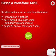 Promo Vodafone e paghi 29 euro al mese per 2 anni