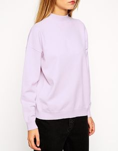 Enlarge ASOS Structured Jumper With Turtle Neck