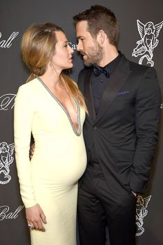 Blake Lively and Ryan Reynolds. THEY ARE PERFECT AND HER BABY IS GONNA BE BEAUTIFUL