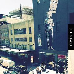 So true – #LOVE is the answer to lot of things! Enjoy the LOVE. #gybell #gybellofficial #gybellaroundtheworld #nyc #enjoythelove #turelove #loveistheanswer #happyday #streetart #inlove