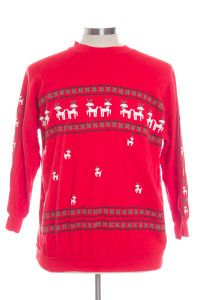 Red Ugly Christmas Sweatshirt 30157