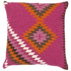 Surya Mex Magenta Pillow @Zinc_Door