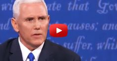 One of the most devastating blows that happened to Hillary Clinton last night was when Pence exposed the Clinton Foundation as a pay-to-play organization.