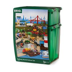 Brio Railway World Deluxe Set Brio…