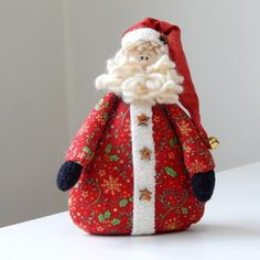 Christmas Sewing, Father Christmas, Christmas Snowman, Handmade Christmas, Christmas Time, Christmas Crafts, Christmas Ornaments, Christmas Arrangements, Christmas Tree Decorations