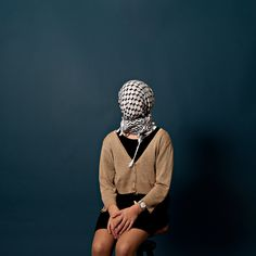 The #keffiyeh (from #Arabic: كوفية, kufiya) is the traditional headdress of peasants in the #MiddleEast and #Bedouins. A #photograph exhibition by Sabyl Ghoussoub at #Jabal #Beirut #Lebanon