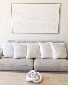 ORIGINAL San Francisco Design, Textured Canvas Art, Dog Runs, Minimalist Decor, Big Dogs, Modern Decor, Love Seat, Contemporary Art, Abstract Art