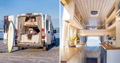 "You Can Now Rent These ""Tiny House"" Camping Vans In Montreal featured image House Plans 3 Bedroom, Tiny House Plans, Kids Studio, Campervan Interior, Van Camping, Tiny Houses For Sale, Tiny House Living, Beach Cottages, Camper Van"