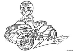 Kids Coloring Pages Paw Patrol from Paw Patrol Coloring Pages Collection. PAW Patrol is a pre-school animated television series from Canada created by Keith Chapman. The main Characters of this cartoon series is Ryder . Cool Coloring Pages, Cartoon Coloring Pages, Coloring Pages For Kids, Coloring Books, Kids Coloring, Paw Patrol Badge, Los Paw Patrol, Birthday Coloring Pages, Valentine Coloring Pages