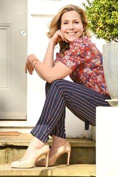 This week, Miranda, Smack the Pony and Bridget Jones star Sally Phillips opens the closet in the west London home. Bridget Jones Actress, Bridget Jones's Diary 2001, Sally Phillips, Lip Sync Battle, Football Girls, English Actresses, West London, Pride And Prejudice, Comedians