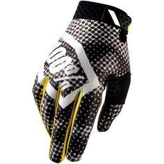 2016 100% RideFit Motocross Gloves - Corpo Snocamo