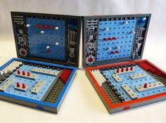 Turn your blocks into a board game. | 21 Ways To Upcycle Your Lego