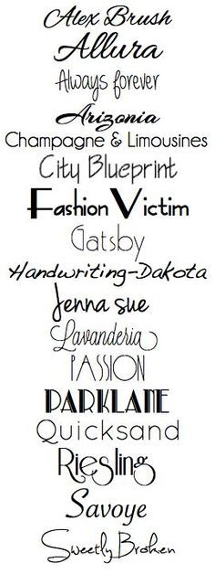 fonts for silhouette sketch pens - Google Search