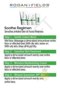 Rodan and Fields Regimen Instructions - Redefine, Reverse, Soothe, and Unblemish - 4 x 6 Cards for Distributing Samples to Potential PCs Giving small samples to interested customers is one of the best ways to grow your business! ***This listing is only for digital files. Please ensure you have read all details prior to purchase.*** This listing includes: 4 High Resolution Print Ready PDF files 8.5 x 11 in - Each PDF has 2 copies of each regimen card with crop marks. Cards are 4 X 6 in 4 W...