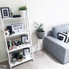 Add some rose gold accent pieces and vintage decor to the shelf