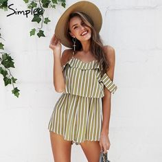 6b2401b5cb Rompers + Jumpsuits at Sensual Shoes + Clothing Boutique · Trendy Fragrance Clothes  Shoes and Home Decor Products Playsuit, Summer Fun, Berry, Off