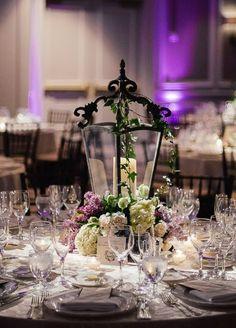 Photographer: Eli Turner Studios; Wedding reception centerpiece idea;