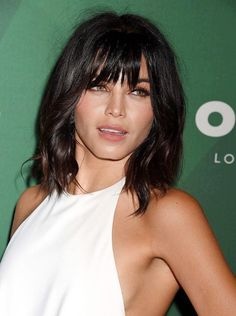 30 Most Hottest Layered Hairstyles with Bangs for Women - Haircuts & Hairstyles . - 30 Most Hottest Layered Hairstyles with Bangs for Women – Haircuts & Hairstyles 2020 30 Most Hott - Medium Hair Cuts, Short Hair Cuts, Medium Hair Styles, Curly Hair Styles, Layered Hair With Bangs, Curly Hair With Bangs, Layered Lob, Lob Haircut With Bangs, Lob Bangs