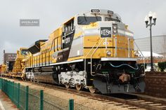 EMD SD70ACe Caterpillar Diesel Locomotive. The future of EMD as Caterpillar acquires EMD from General Motors.