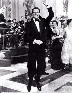 """Cary Grant, 1958 Dancing adorably in """"Indiscreet"""""""