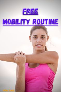 A mobility routine with 7 unique exercises to improve flexibility, range of motion, and general mobility. These natural movements promote a healthy and active lifestyle and prevent from injury. #mobility #mobilityroutine #anklemobility #improveanklemobility #anklemobilityexercises Ankle Mobility Exercises, Sprained Ankle, Improve Flexibility, Squats, Routine, Range, Lifestyle, Natural, Healthy