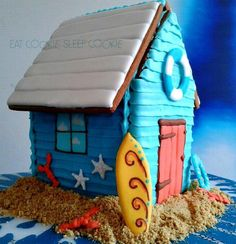 Beach Hut - 'dreaming of The Cape' by Anjum(eatcookie,sleepcookie) posted on Cookie Connection