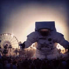 #CoachellaAstronaut #PoeticKinetics www.PoeticKinetics.com