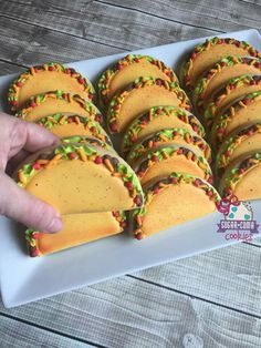 Sugar Coma Cookies. Tacos anyone!
