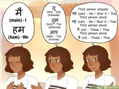 How to Learn Hindi (with Pictures) - wikiHow English Learning Spoken, Learn English Grammar, Learn English Words, English Phrases, English Study, English Conversation For Kids, Hindi Language Learning, Language Lessons, Hindi Alphabet