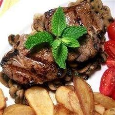 this very tasty and easy marinade for lamb chops can also be used for steaks.