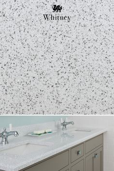 Our Cambria Whitney design gleams with bright white and sparkles of pure quartz. Resilient and easy to clean, our quartz is ideal for any countertop in the home. Quartz Countertops, Kitchen Countertops, Granite, Master Bath Remodel, Traditional House, Kitchen And Bath, Home Remodeling, Kitchen Design, Kitchen Ideas