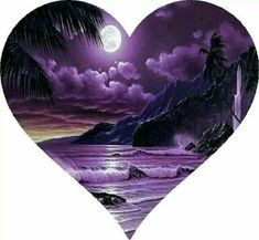 Heart of the purple ocean purple with black rosor, vackra bilder, bilder. Purple Love, All Things Purple, Shades Of Purple, Purple Stuff, Purple Hearts, Purple Sky, Photo Trop Belle, Heart Wallpaper, Purple Reign