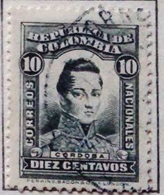 Personajes y motivos colombianos 1917  CORDOBA