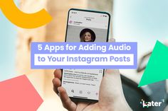 Instagram Audiograms: 5 Apps for Adding Audio to Your Instagram Posts - Later Blog Visualizer App, Like Instagram, Instagram Posts, Great Apps, Life Lesson Quotes, Life Quotes, Quotes Deep Feelings, Social Media Channels, Life Skills