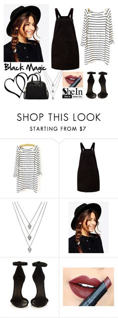 """275-> ""Black Magic"" by Little Mix"" by dimibra ❤ liked on Polyvore featuring ASOS, Isabel Marant, Fiebiger, Furla, women's clothing, women, female, woman, misses and juniors"