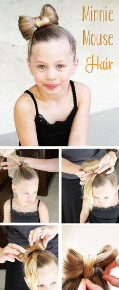 Hair bow idea for girls