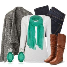 Emerald Green, created by qtpiekelso on Polyvore