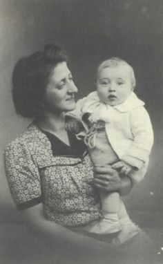 Let us never forget this beautiful baby boy Henri Kuperberg in his mother's arms born in Paris France in 1941 sadly murdered in Auschwitz on February 13, 1943 at age 16 months