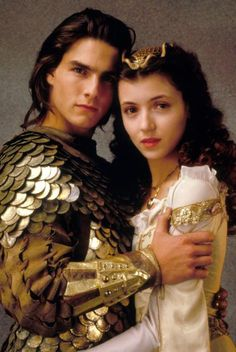 Jack (Tom Cruise) and Lily (Mia Sara) from Legend