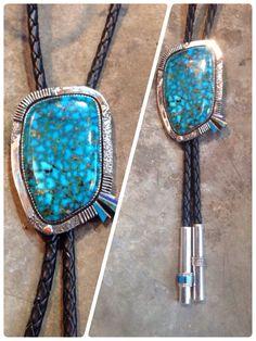 特大ハイグレードキングマン ボロタイ  ホームページ http://www.horizon-blue.jp  Facebook https://www.facebook.com/horizonblue.turquoise  #インディアンジュエリー #pendants #ペンダント #ターコイズ #turquoise