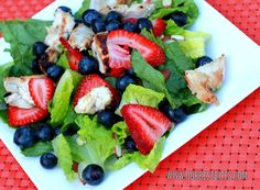 Berry Chicken Salad, its probably my fav go to lunch craving ever