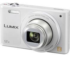 Panasonic Digitalkamera DMC-SZ10EG-W 16 Mio. Pixel Opt. Zoom: 12 x Weiß