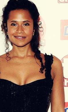 British actress Angel Coulby- Guyanese parents.